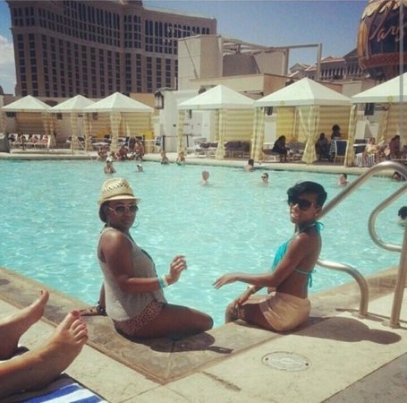 Planet Hollywood Resort & Casino: by the pool