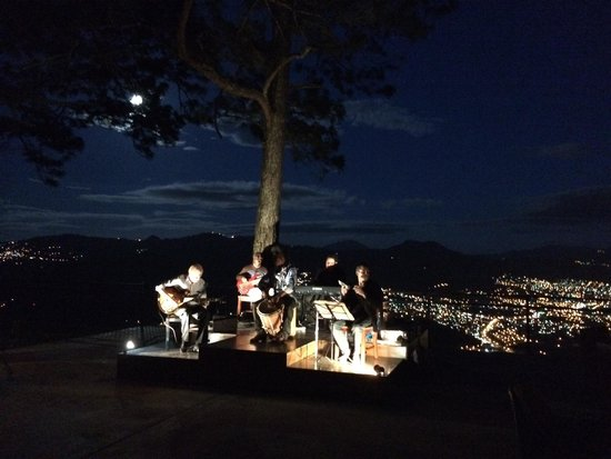 Live Jazz @ La Cumbre with the best view in town.