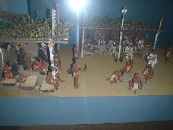American Museum of Natural History: miniaturas recreativas