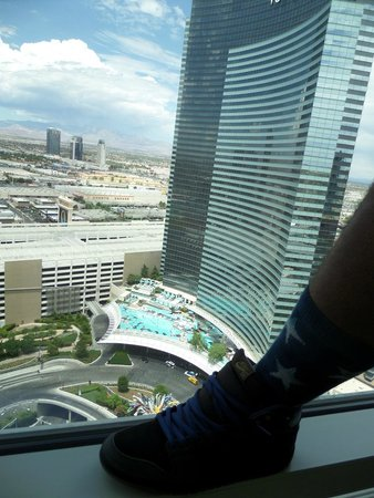 ARIA Resort & Casino: 30th floor