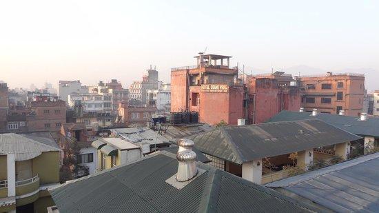 Festoon Hotel: 屋上からの景色