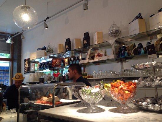 Espresso Sosta Bar : Inside.