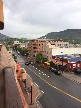 Table Mountain Inn: View from 3rd floor balcony