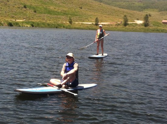Bodhi SUP - Stand Up Paddleboarding in Steamboat Springs: My husband and I took lessons from Bud. He was patient and instructional . We enjoyed learning a