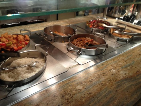 Golden Nugget Buffet : Asian Foods