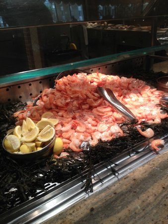 Golden Nugget Buffet : Shrimp