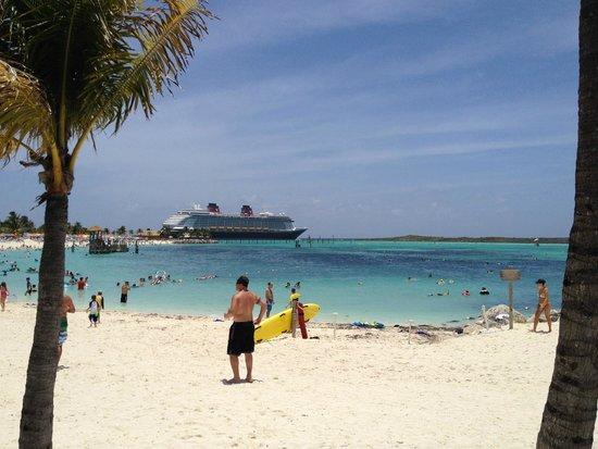 Castaway Cay : The beach at Castaway Kay