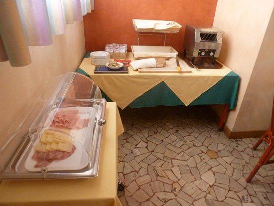 Hotel Al Santo: Breakfast