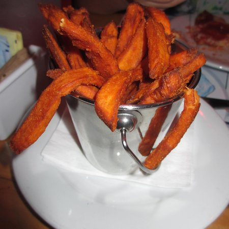 House of Blues Restaurant & Bar: Sweet Potatoe Fries