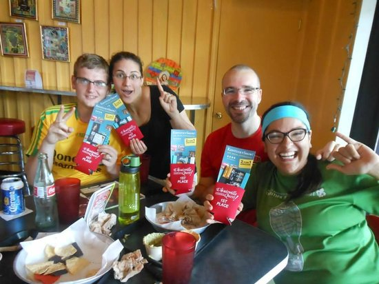 The Louisville Quest!: One of our winning Quest teams