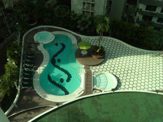 Sercotel Panama Princess: Vista desde el pasillo de la habitacion hermoso...
