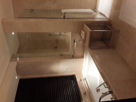 The Leela Palace Chennai: The Bathroom