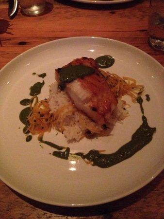Hobnob Kitchen & Bar: Sea bass