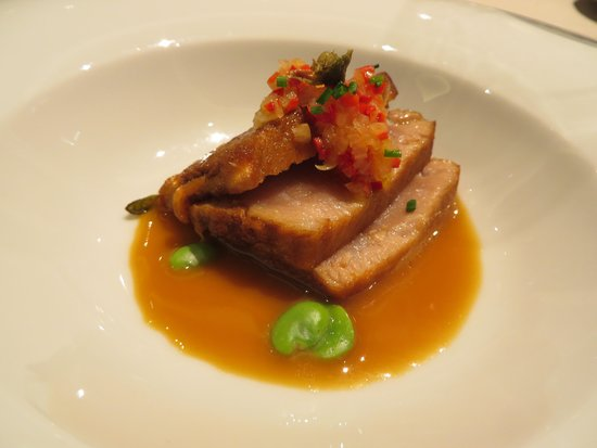 Food Lover Tour: This Tuna dish reminded me of the flavors of Hawaii