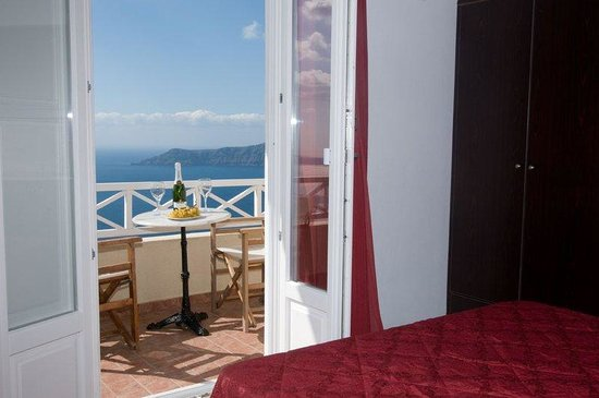 Villa Ilias Caldera Hotel: Exclusive Room-s Interior