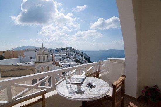 Villa Ilias Caldera Hotel: Superior Room-s Balcony