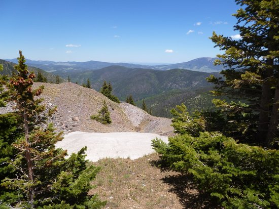 A.A. Taos Ski Valley Wilderness Adventures: Still snow in June!