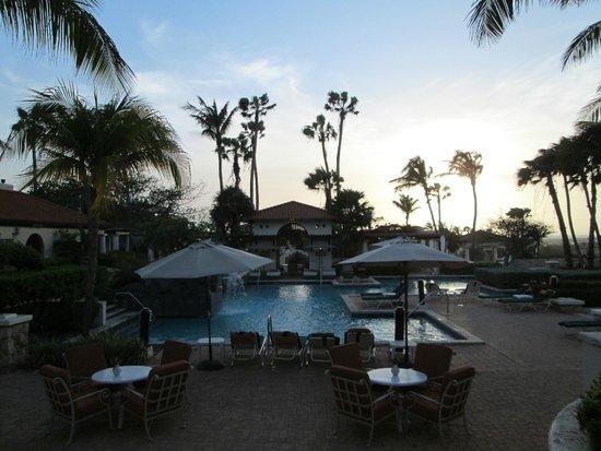 The Restaurant at Tierra del Sol: Mediterranean pool area adjacent to restaurant...