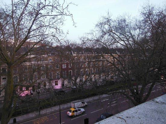 Beverley City Hotel: vista desde la habitación del 3er piso