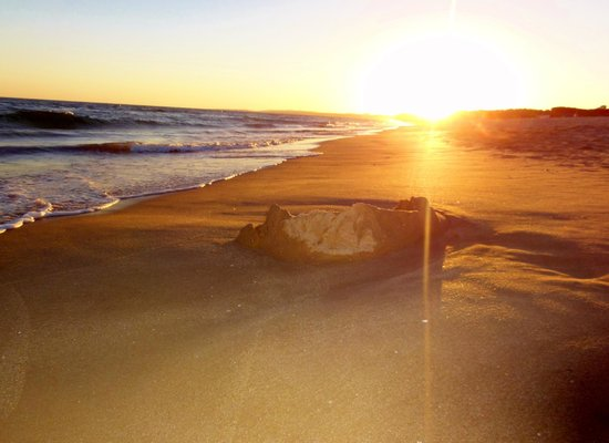 Hilton Vilamoura As Cascatas Golf Resort & Spa : Sunset at Hilton Beach area