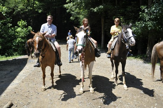 Sugarland Riding Stables: Family Pic