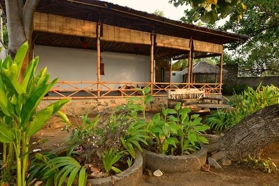 Lotus Sherab Yogacenter: Right at the beach, a lovely open space