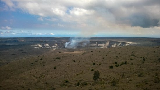 Hawaii Forest and Trail : Volcano Kilauea during the day!