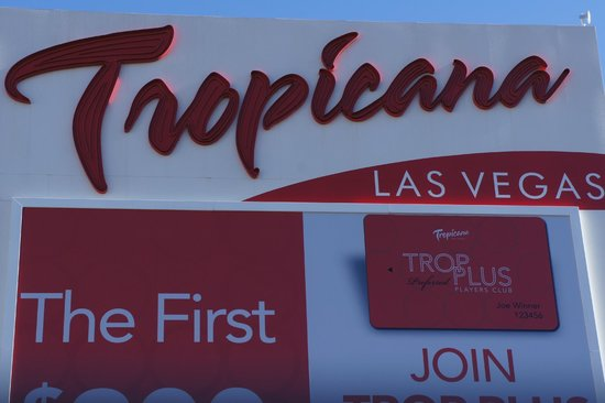 Tropicana Las Vegas - A DoubleTree by Hilton Hotel: Hotel Signage