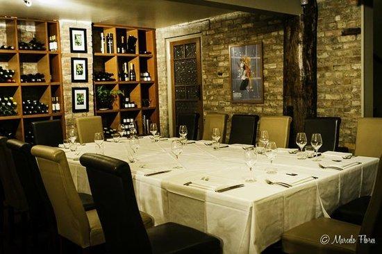 Reserve Restaurant Cellar: Our private dine in cellar