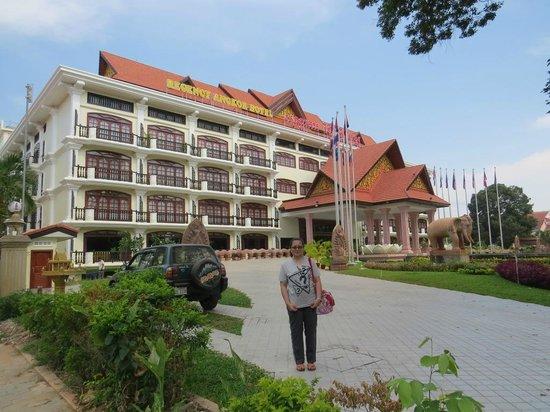 Regency Angkor Hotel: The hotel
