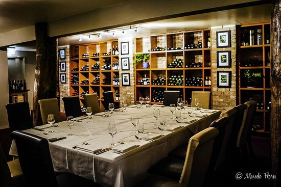 Reserve Restaurant Cellar: Our cellar is available for small groups of 8 or larger groups of 25