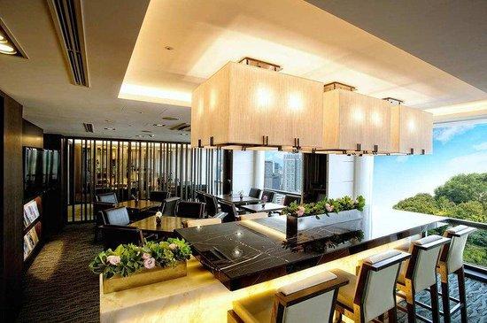 Millennium Seoul Hilton : Executive Floor Lounge