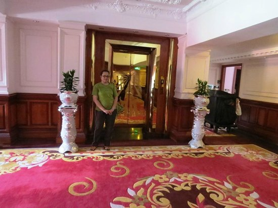Regency Angkor Hotel: The carpet in the hall