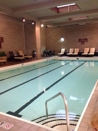 Des Moines Marriott Downtown : Great indoor pool!