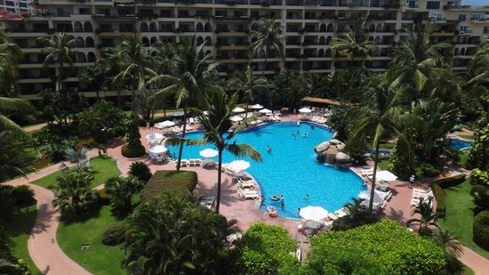 Velas Vallarta: Pool view from room