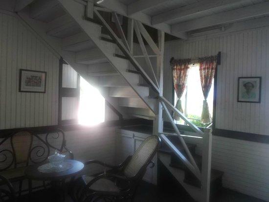Casa Museo Isleña  : acceso a la segunda  planta  Casa Museo
