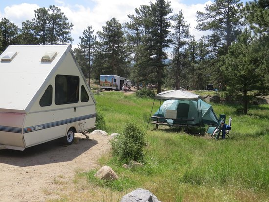 Moraine Park Campground : Moraine Park Campsite #81