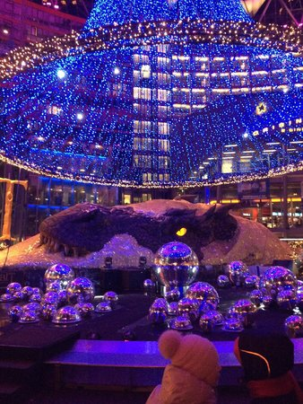 The Hobbit display at Potsdamer Platz