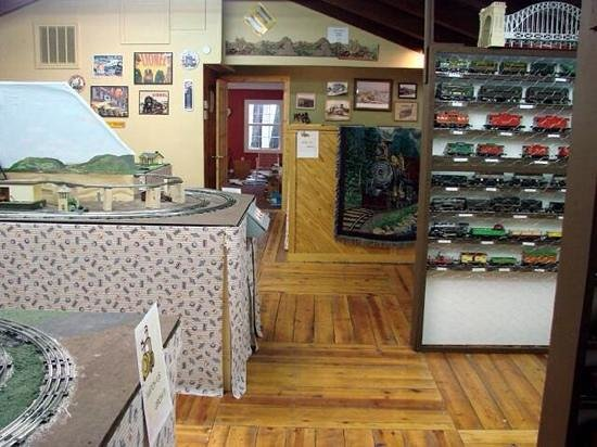 The Right Track Toy Train Museum: inside the museum