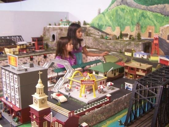 The Right Track Toy Train Museum: Kids of all ages can play with the trains.