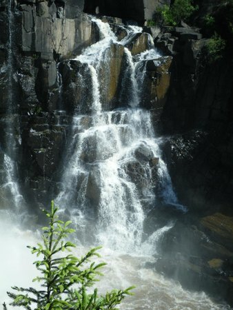 Grand Portage State Forest: Falls at Grand Portage