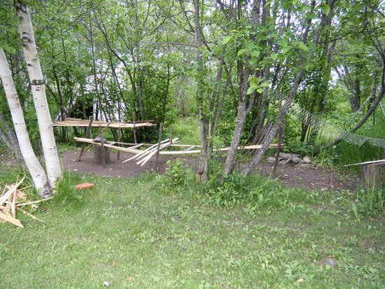 Grand Portage State Forest: Grand Portage Fort Reenactment site