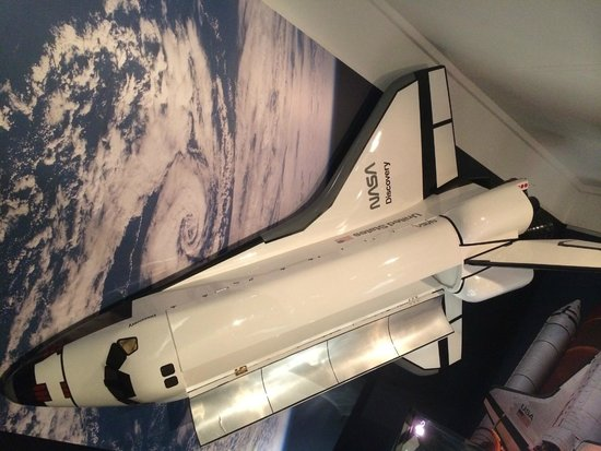 Canberra Deep Space Communication Complex: shuttle model