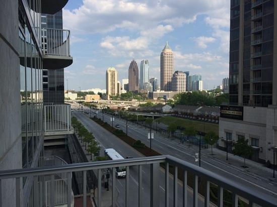 Twelve Atlantic Station: View from balcony
