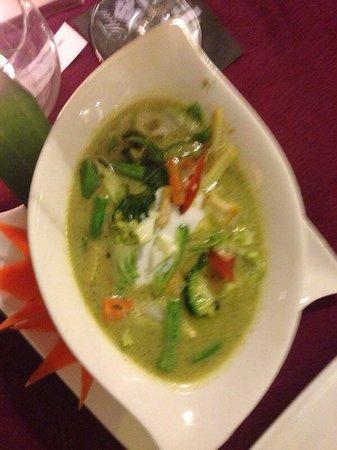 Bussaba Thai Restaurant : Thai green curry- delicious!!!