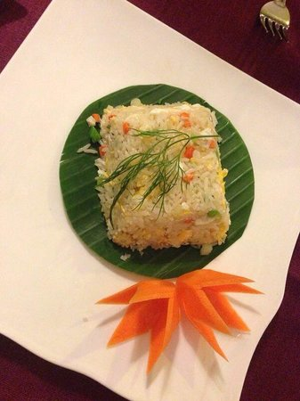 Bussaba Thai Restaurant : Veg dried rice dish
