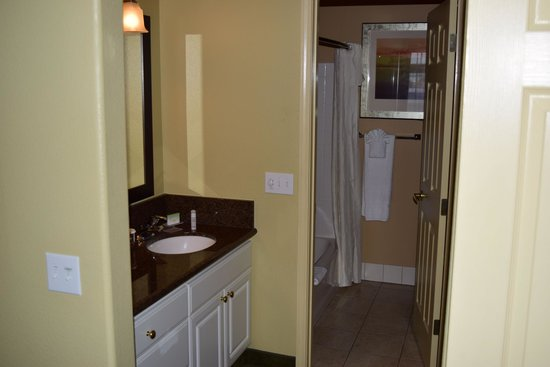 Homewood Suites by Hilton Vancouver-Portland: Bathroom area