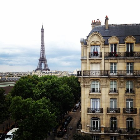 Hotel Duquesne Eiffel: Amazing View From Room 55