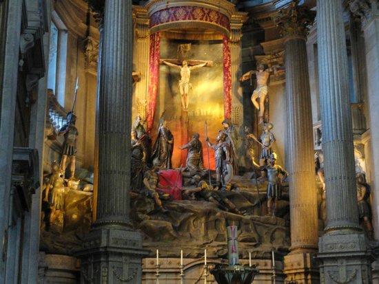 Bom Jesus do Monte: Interior de Bon Jesu