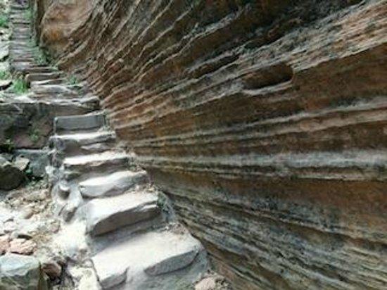 Hidden Canyon: 階段があります